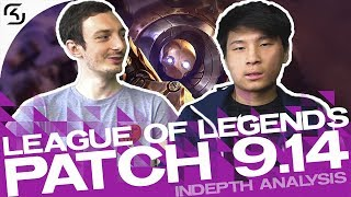 DREAMS DOESN'T LIKE CATS? | PRO'S EXPLAIN PATCH 9.14 | SK LEC