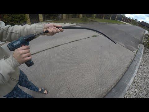 Как сделать глубинный вибратор для бетона в домашних условиях