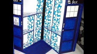 DIY  COMO HACER UNA TARDIS del ☆ DOCTOR WHO☆♡HOW TO MAKE A TARDIS