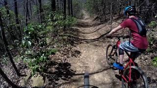 Starting 2018 Season Off With A Crash!!! MTBing Bent Creek, Li…