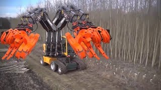 Najnowsza technologia na świecie: Ciągnik Piła łańcuchowa, Maszyny do drewna, Najszybszy koparka
