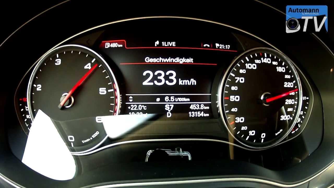 2013 Audi A6 3 0 Tdi 204hp Multitronic 0 230 Km H