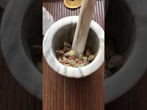 Introduction and blending resin incense