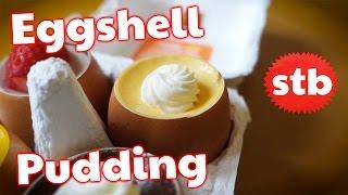 Diabetes Quest: Japanese Pudding // Eggshell Desserts from Shibuya, Tokyo, Japan