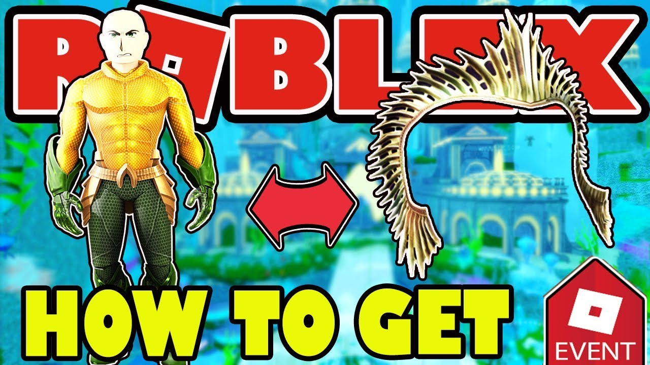 Roblox Aquaman Event How To Get Aquaman Rthro Bundle And Atlannas Crown Roblox 2018 Home Is Calling Arena Youtube