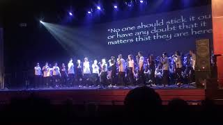 Chamber Singers Disappear, Broadway Night 2018
