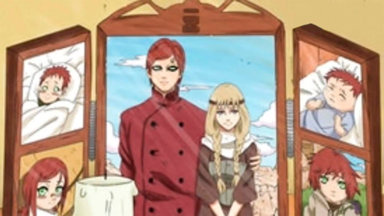 Гаара скрывал от нас это в аниме Наруто
