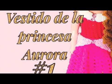 0fb7b9046 Ya les tengo el tutorial parte #1 del vestido de la princesa Aurora ✨es un  vestido para niñas de 3 años 👧🏻está muy fácil y muy bonito, ...
