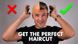 How to GET the PERFECT HAIRCUT From Your BARBER! (YOU MUST SEE)