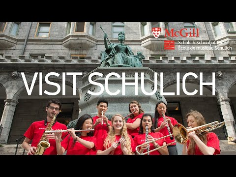 Schulich School of Music: A Visit