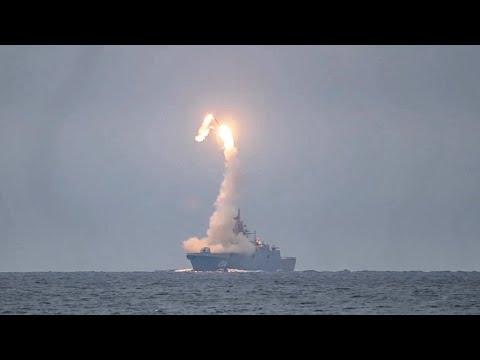 Первый пуск гиперзвуковой ракеты «Циркон» с борта фрегата «Адмирал Горшков»