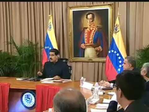 EL PRESIDENTE DE VENEZUELA NICOLÁS MADURO RESPONDE AL COMUNICADO DEL PRESIDENTE DE EE.UU  TRUMP.