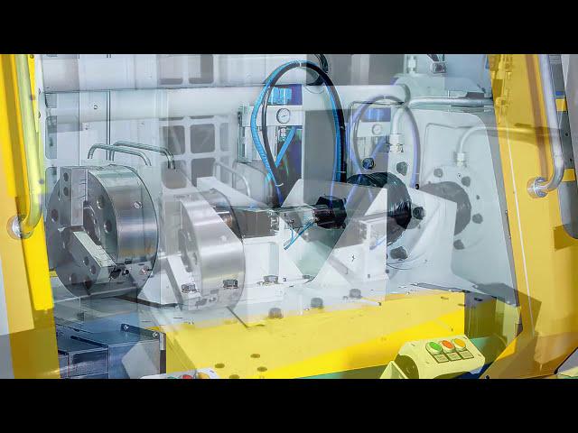 30-Tonnen-Reibschweißmaschine mit Entgratung