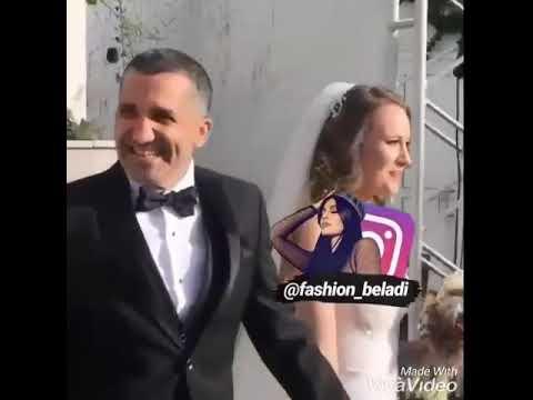 زواج فريدة ومنصور ممثلين مسلسل سامحيني 😍