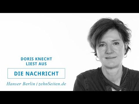 Doris Knecht liest aus Die Nachricht