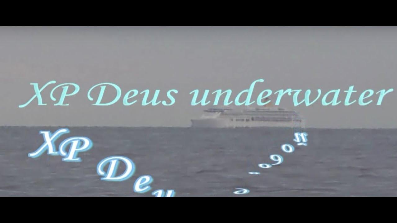 Xp deus поиск под водой