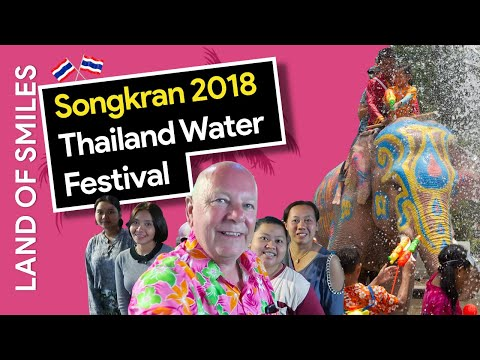 Songkran 2018 Thailand Water Festival