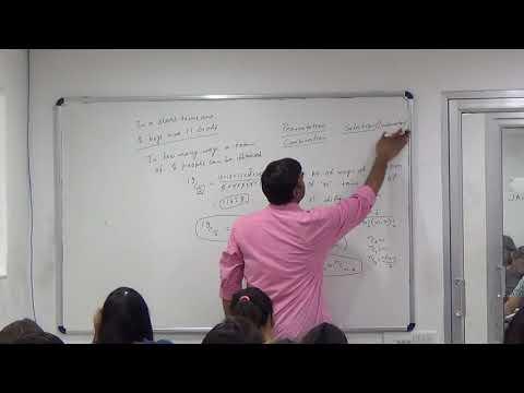 IPM NPAT Math 4 Part 1 (Permutation Combination)