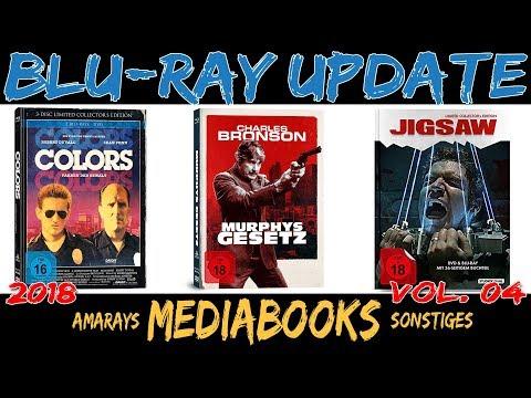 BLU-RAY UPDATE #04 || 2018 || MEDIABOOKS & AMARAYS