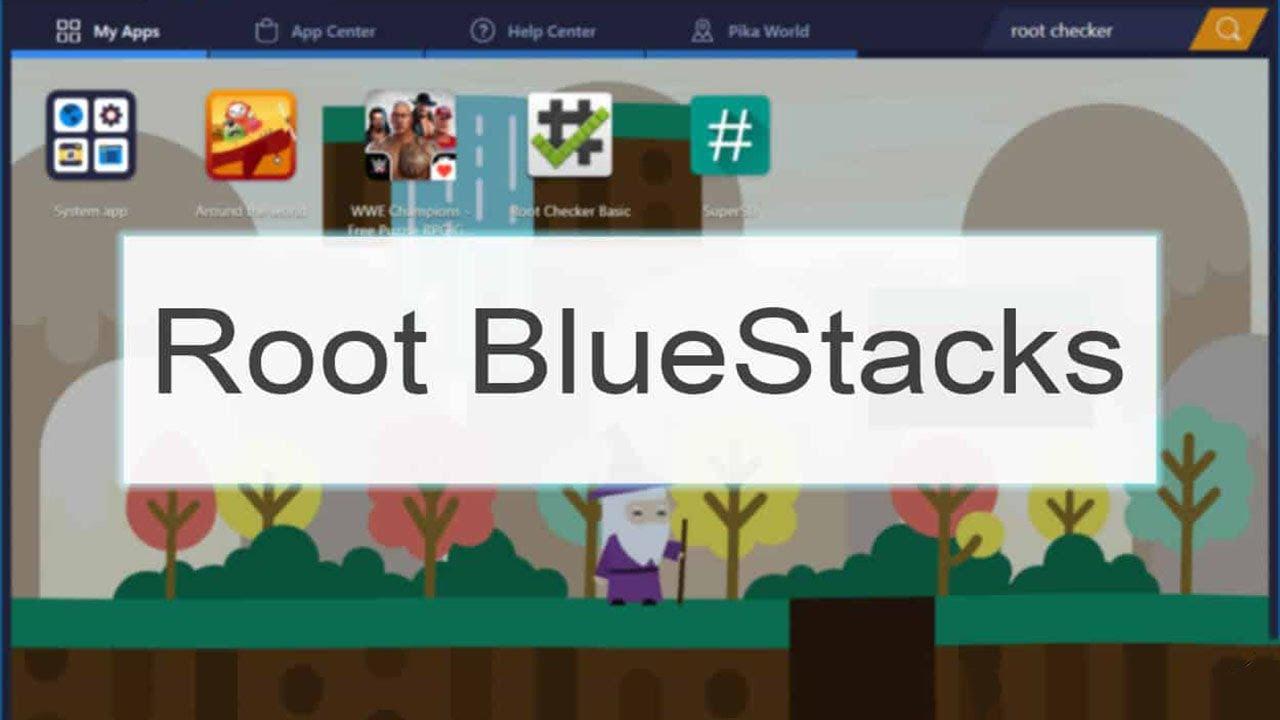 easy root bluestacks 3