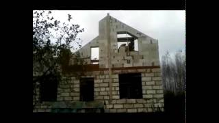 Строим дом своими руками из пеноблоков(Строим дом своими руками из пеноблоков, нарезка последних дней на стройке., 2016-10-25T06:22:44.000Z)