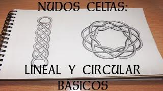 NUDOS CELTAS (línea y círculo básicos) | MelganniaTV