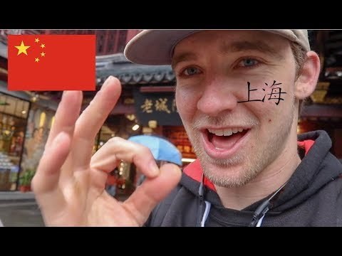 AMERICAN explores SHANGHAI, CHINA! (Travel Vlog Day 1)