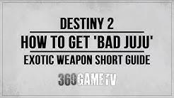 Destiny 2 How to get Bad Juju Exotic Pulse Rifle - Short