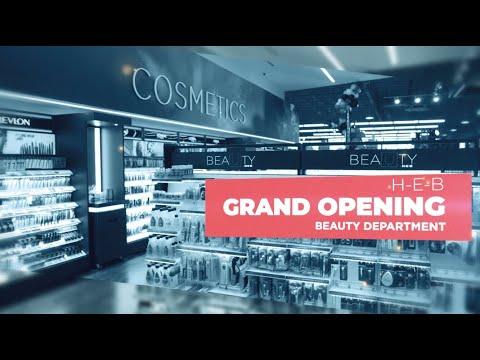 H-E-B Beauty Department Grand Opening