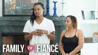 Chris Addresses the Eyelashes His Fiancé Ashaki Found | Family or Fiance | Oprah Winfrey Network