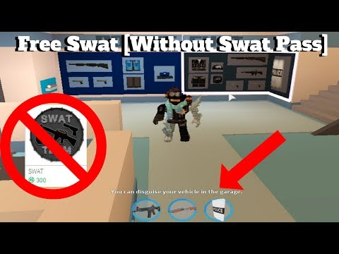 ROBLOX Jailbreak- How To Get The Swat Gun...