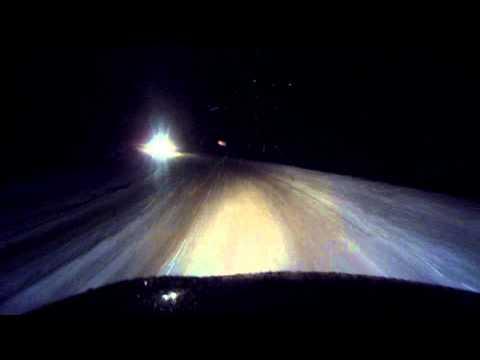 Дорога из Окуловки в пос  Кулотино  Новгородской области