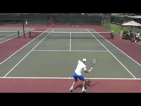 College Tennis 2017: #34 Otto (HPU) vs. #23 Halligan (HNU) FULL MATCH