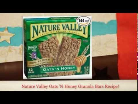Nature Valley Granola Bars Recipe | How to make Nature Valle