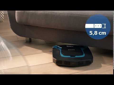 Philips DA Castor FC8794 82 Slim Design BACK CLEAN Aqua MOV 2016