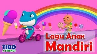 Lagu Anak Paud TK Tema Mandiri - Bersama Tidofriends - Lagu Anak Indonesia - Lirik Lagu - Dunia Pink