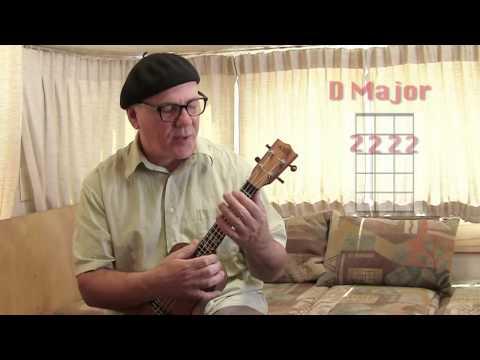 26 Basic Ukulele Lessons: #18 The Dreaded D Chord