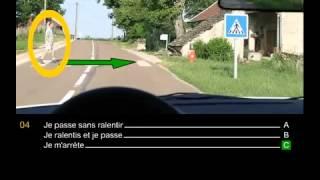 code de la route france gratuit 2015   test Examen avec correction 2
