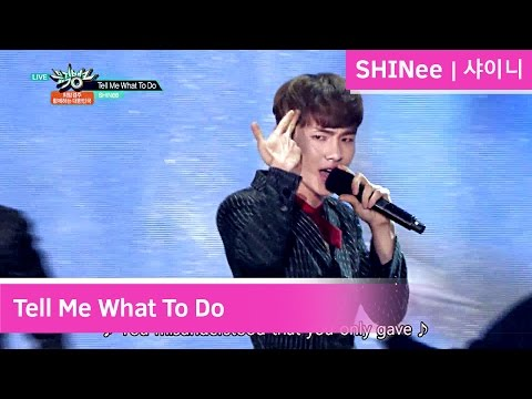 SHINee - Tell Me What To Do [Music Bank COMEBACK / 2016.11.18]