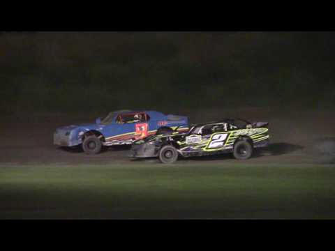 Genesee Speedway Street Stock Feature 7-20-17