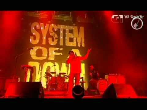 System of a Down canta BYOB no Palco Mundo do Rock in Rio