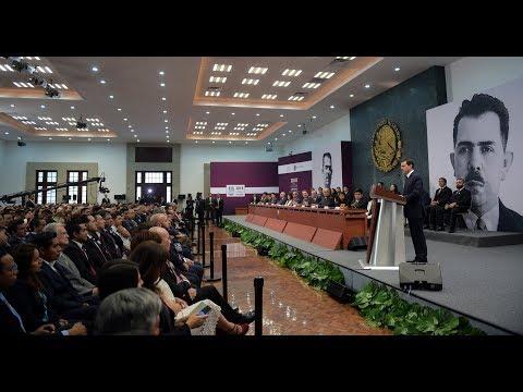 Entrega de la presea Lázaro Cárdenas. Día del Politécnico 2018