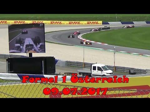 Formel 1 GP Österreich 2017 - Aufnahmen von Red Bull Tribüne