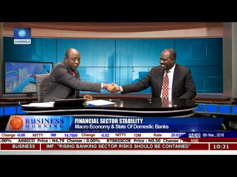 Financial Sector Stability: Focus On State Of Nigerian Banking Sector Pt.2 |Business Morning|