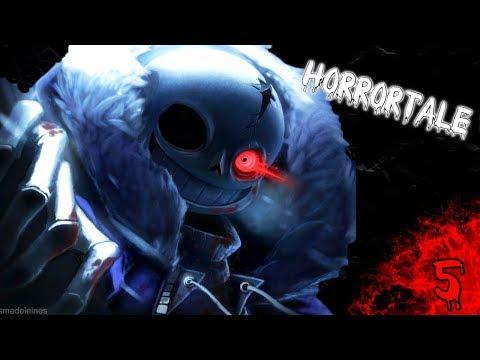 Undertale AU / Horrortale комикс #5 [ RUS ] ЕДА, ЕДА И ТОЛЬКО ЕДА!