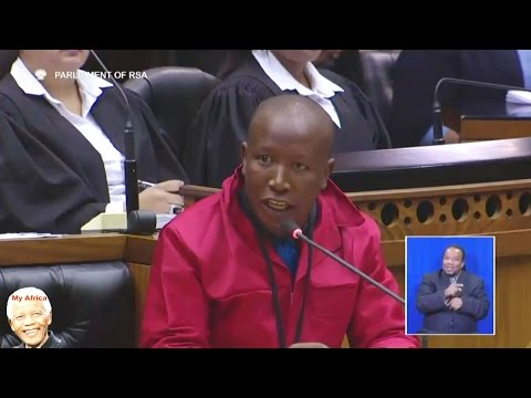 """ANC Jump In Nearest HELL"" Julius Malema in Parliament"