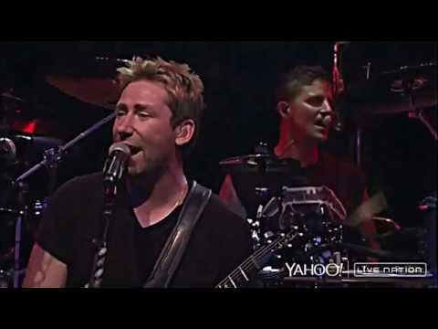 Nickelback Yahoo Live Nation 2014 HD 4K
