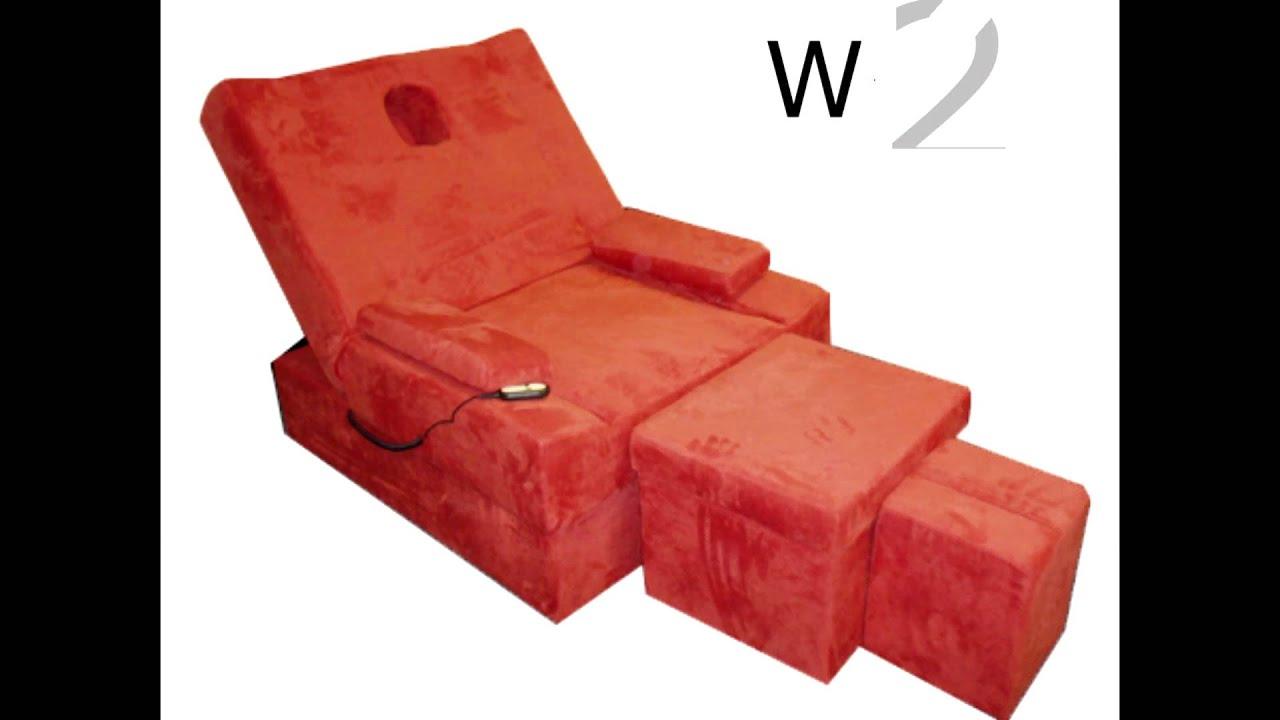 Electric Foot Massage Sofa Set 电动足浴沙发  YouTube