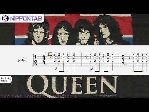 【Guitar TAB】「Bohemian Rhapsody」Fingerstyle / Acoustic arrangement〚Queen〛tutorial & tab譜