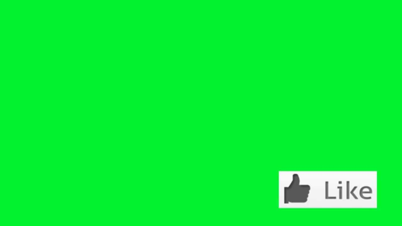 Like Button Green Screen Royalty Free Footage Youtube